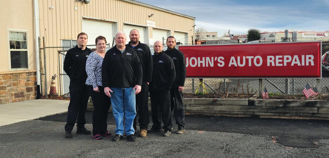 Johns Auto Repair Team Photo